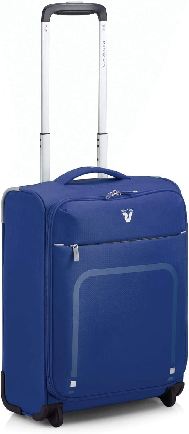 Roncato Lite Plus Maleta Cabina avión Azul, Medida: 45 x 35 x 18 cm, Capacidad: 25 l, Pesas: 1.3 kg, Maleta Cabina avión ryanair