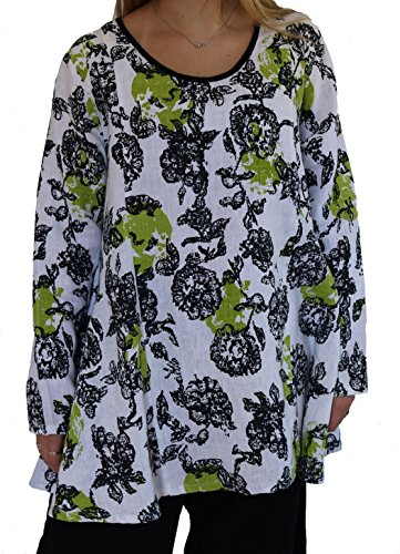 Citron Tunic - snapdragon & twig by Tulip Veronica Tunic - Citron
