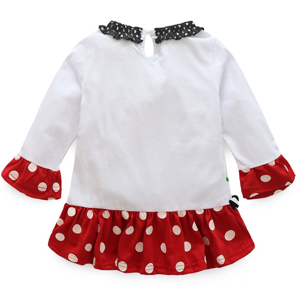 xirubaby Cute Baby Infant Girls Christmas Outfit Snowman Long ...