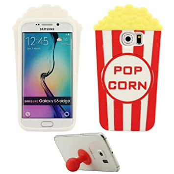 coque pop corn samsung galaxy s6 edge