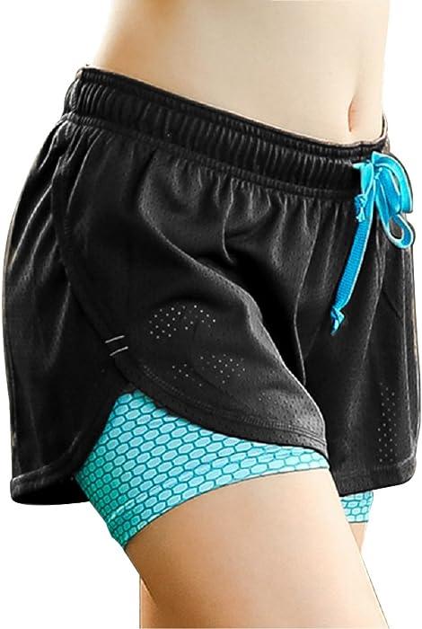 Shorts 1 Yoga Sport In Damenmädchen Für Yogahose Sommer Kurz Sporthose 2 gEwqCwX