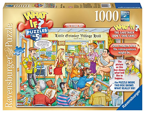 Ravensburger The Village Hall What If? Puzzle (1000-Piece)