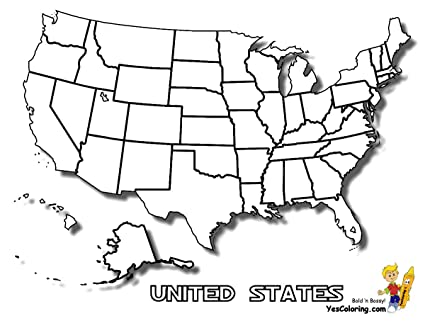 Amazon.com: Home Comforts Laminated Map - How to Draw A Us Map ...