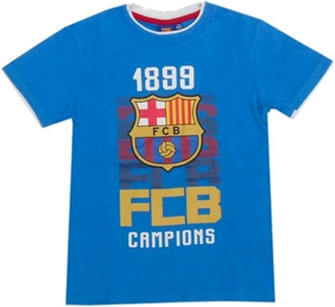 FC Barcelona-Camiseta para niño, diseño del FC Barcelona, color ...