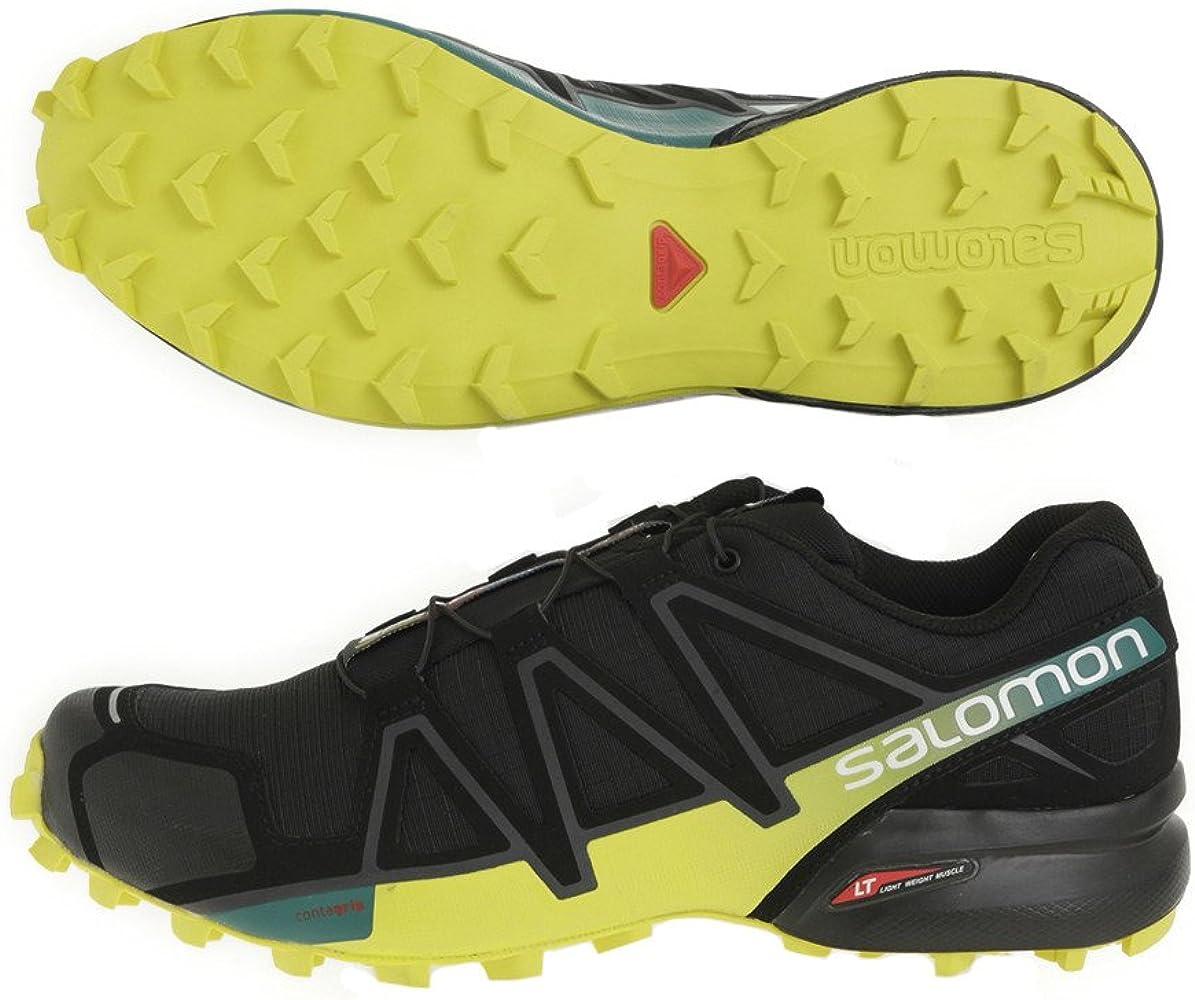 l39239800.speedcross 4.Negro/Amarillo.8.5: Amazon.es: Zapatos y complementos