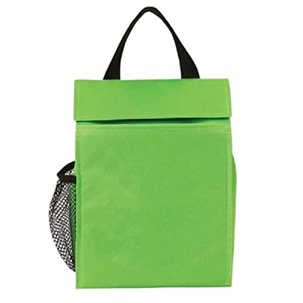 Amazon Com Yens Basic Lunch Sack 6cp 277 Neon Green Kitchen Dining