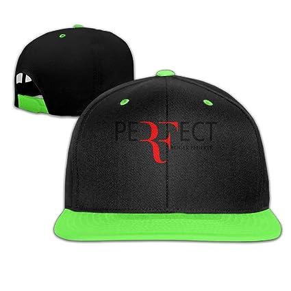 cde4e0dbc7f0d Amazon.com  Katie P. Hunt Roger Federer Flat Bill Trucker Caps Hat ...