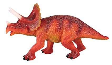 amazon com national geographic triceratops dinosaur toys games