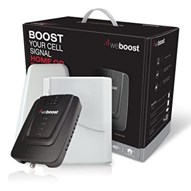 weBoost Connect 4G 470103 Indoor Cell Phone Signal Booster for Home and Office - Supports 5,000 Square Foot Area