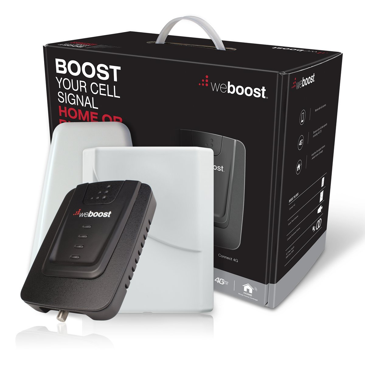 weBoost Connect 4G Indoor Cell Phone Signal Booster for Home and Office - Supports 5,000 Square Foot Area by weBoost