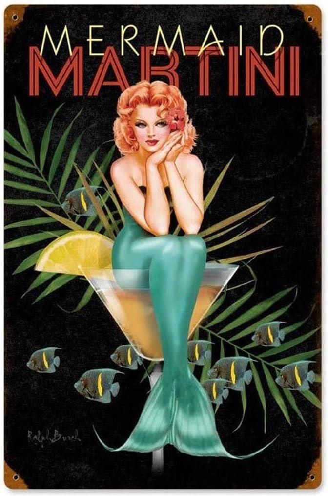 Tin Sign Wall Decor Metal Bar Plaque Pub Poster Retro Home Vintage Tavern Shop
