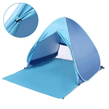 Hindom 2-3 Person Automatic Pop Up Beach Tent UV Protection Portable Lightweight Outdoor  sc 1 st  Amazon.com & Amazon.com: Hindom 2-3 Person Automatic Pop Up Beach Tent UV ...