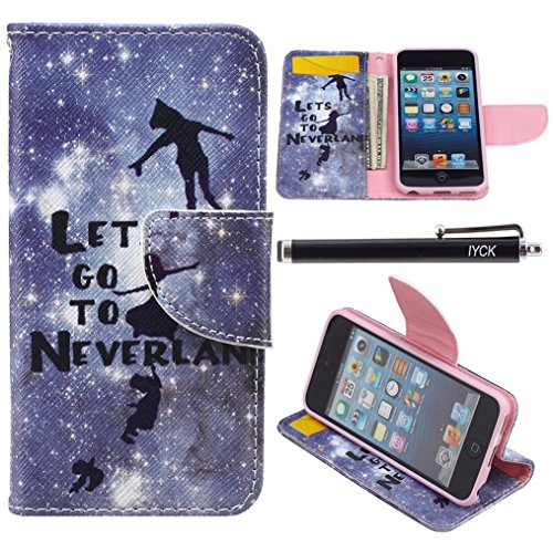 Wallet Case For Apple iPod touch 5/6 (Pink) - 7