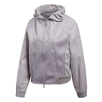 Adidas Cf3973 Chaqueta, Mujer, Gris (Peagry), XS