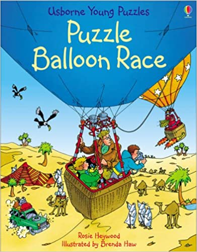Book Puzzle Balloon Race (Usborne Young Puzzles)