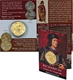 Richard iii gold coin replica