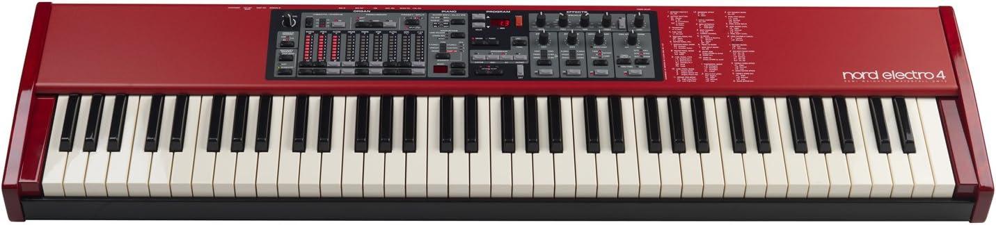 Nord - Electro 4 sw 73 semipesado piano profesional: Amazon ...