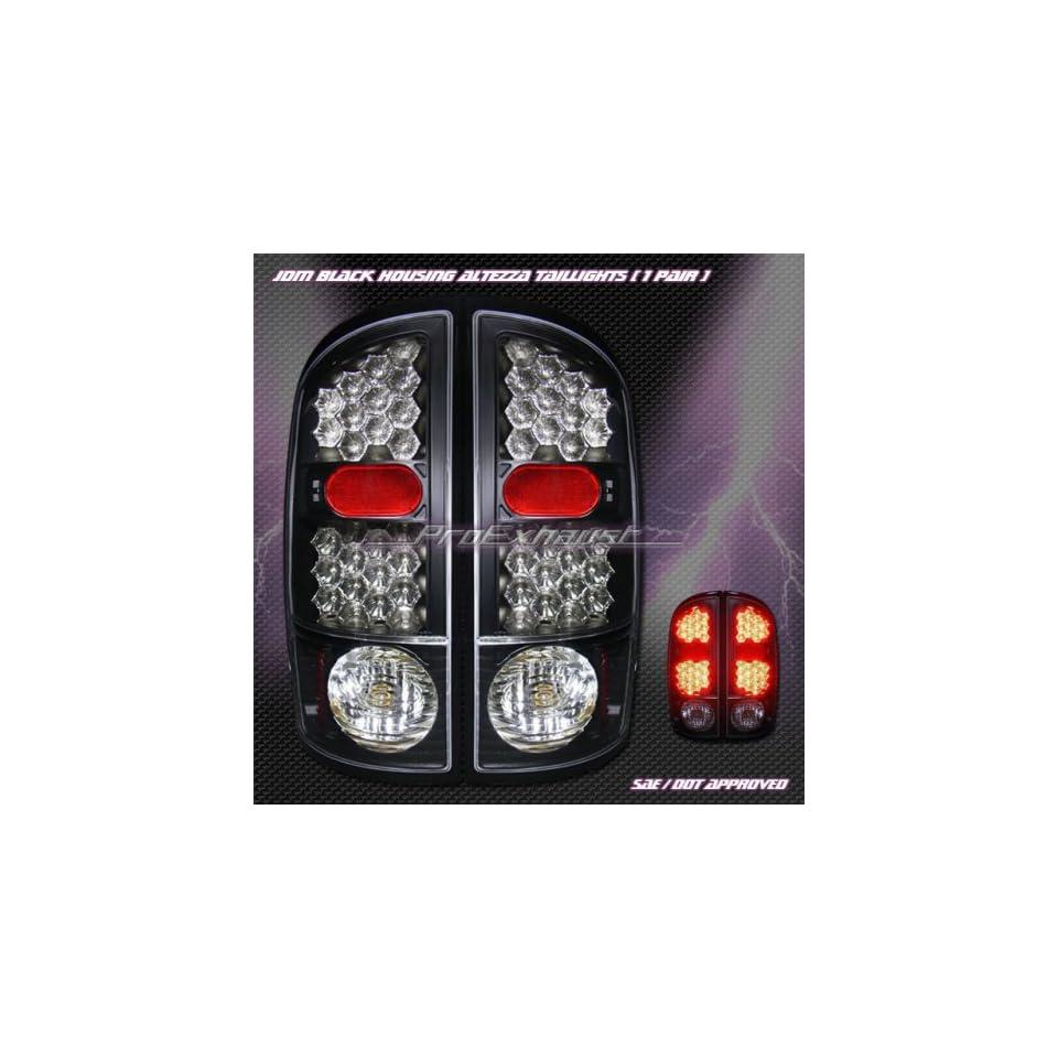 Dodge Ram Led Tail Lights JDM Black LED Taillights 2001 2002 2003 2004 2005 2006 01 02 03 04 05 06