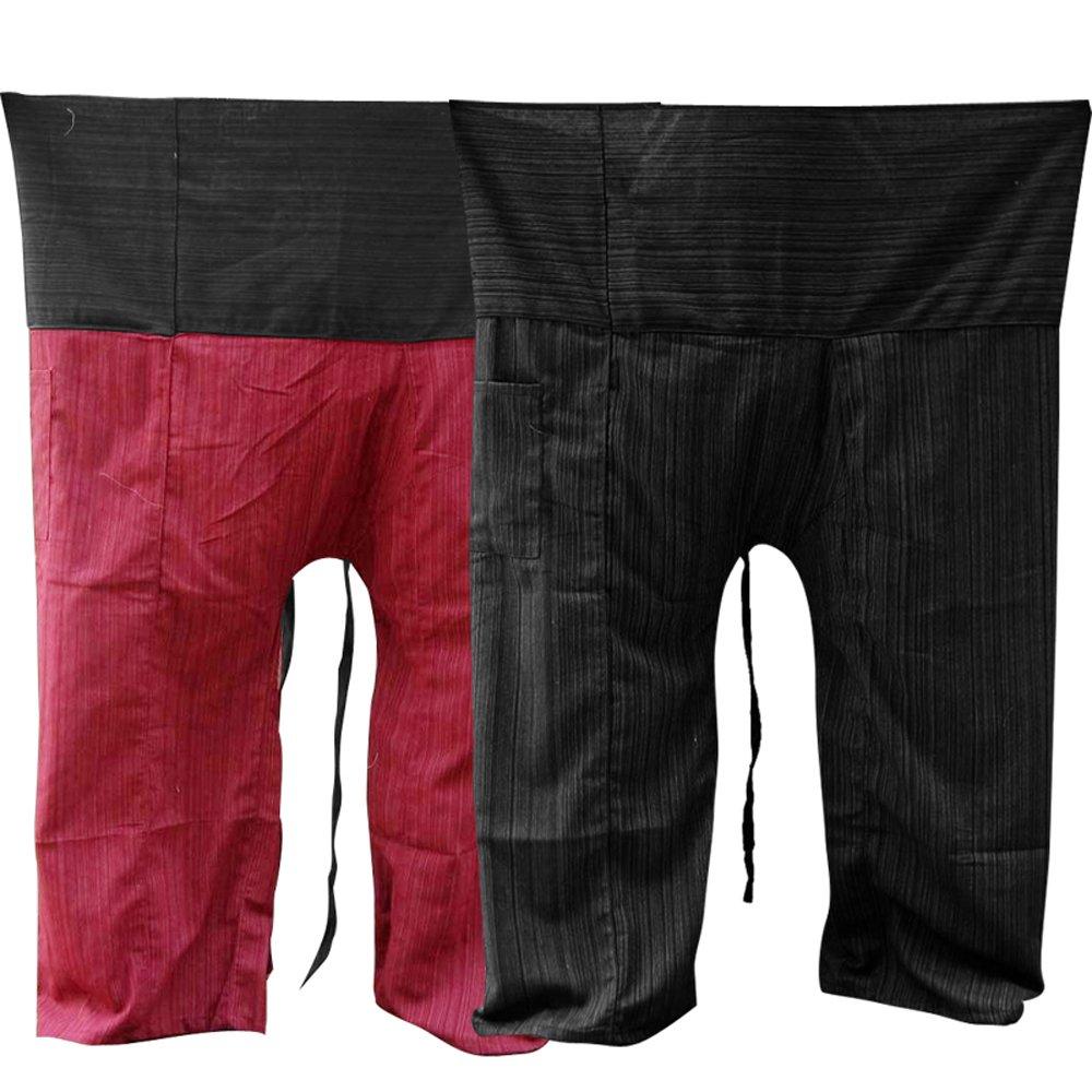 2PACK-[2P004] Thai Fisherman Pants Yoga Trousers Thailand