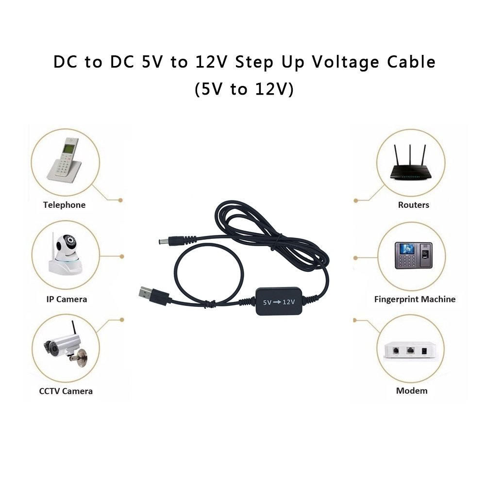 Step Up Converterqutaway 5v To 12v Usb Voltage The Circuit Can Operate From A Of About Change Transformer Dc Power Cable With Barrel Jack Booster Module5v Home Audio Theater