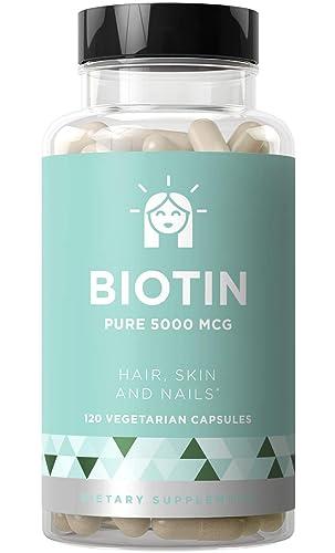 BIOTIN 5000 mcg - Healthier Hair Growth