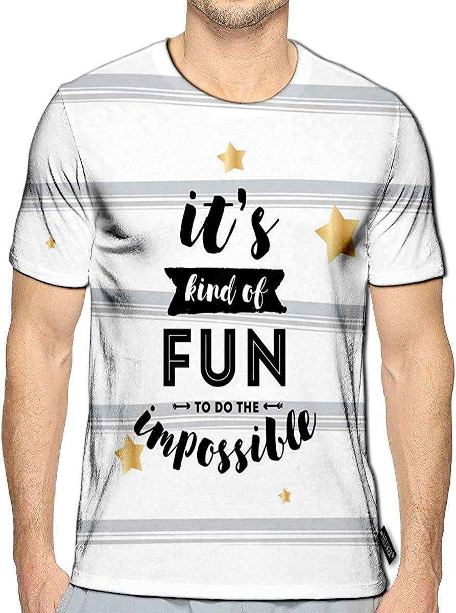 3D Printed T-Shirts Decorative Stars Brushwork Hand Hatching in The Sky Scratches Texture Short Sleeve Tops Tees
