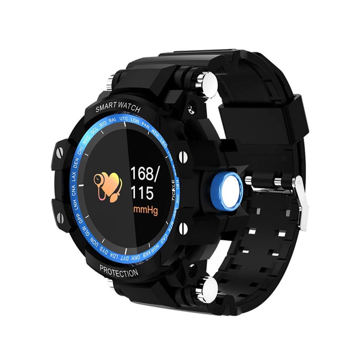 Bleu YSCYLY Fitness Tracker Bracelet Moniteur de fréquence Cardiaque Activité IP67 Podomètre étanche Trackers intelligents pour Android iOS