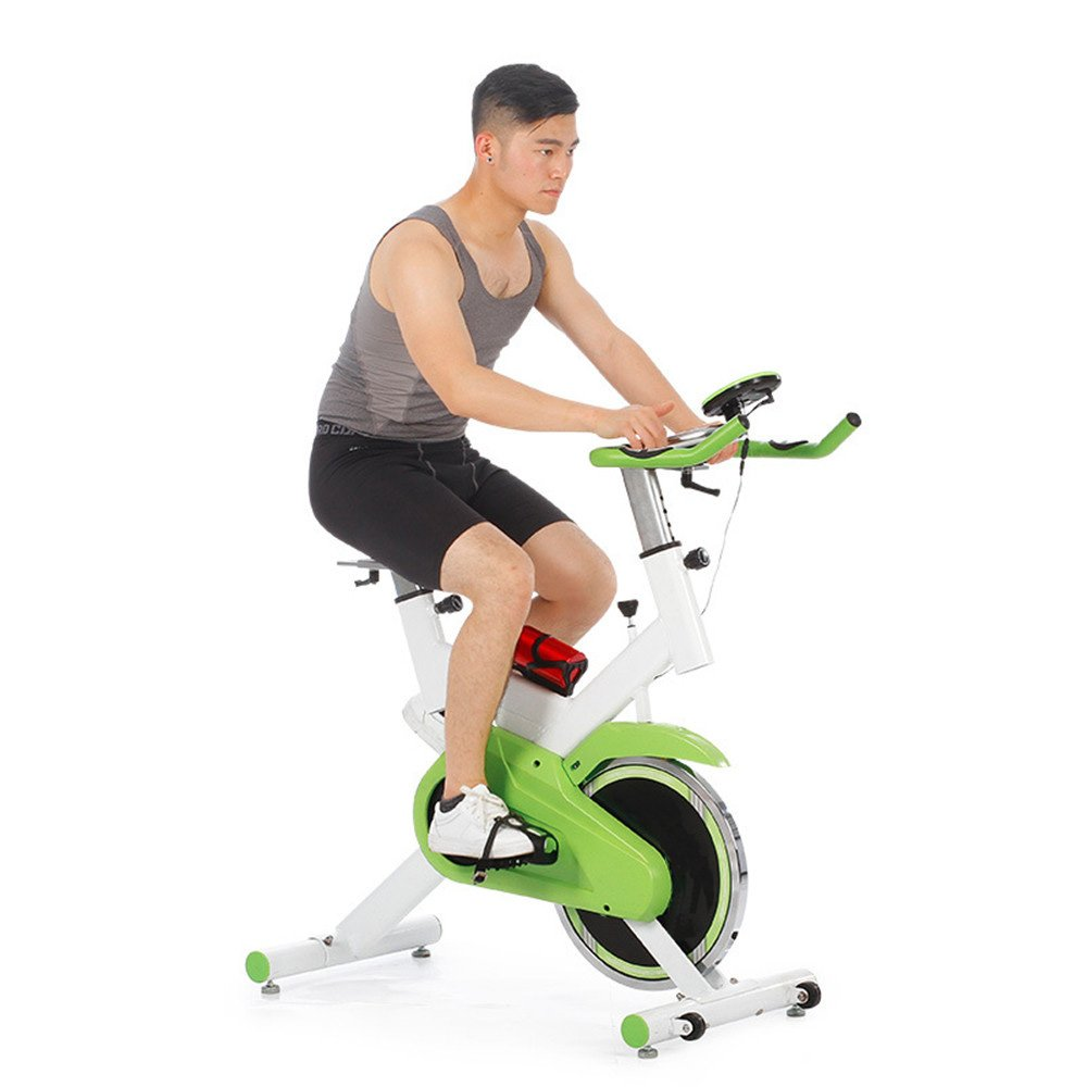 Yzibei Fitness-Fahrrad Spinning Fahrrad Home Pedal Ultra-leise Indoor Sport Pedal Fitnessgeräte Sport Indoor Fahrrad Sportausrüstung 9562ff