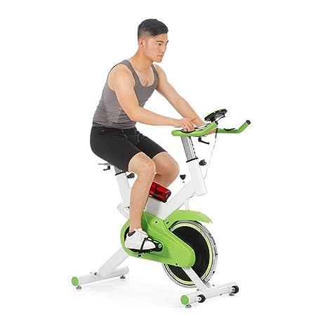 Bangxiu Bicicleta estática de Fitness Spinning Bicycle Home Pedal ...