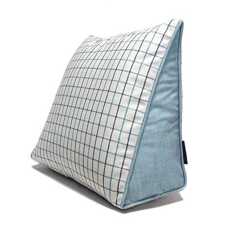 WXH Cushions Cojín Triángulo Cojín Lumbar Oficina Cojín del ...