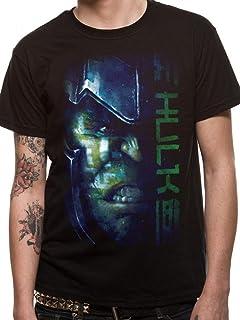 Thor Ragnarok Thor Rock Mjolnir Gladiator Marvel Licensed Grey Mens T-shirt