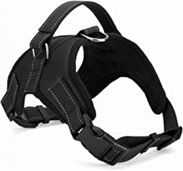 b7e6a2bf3e Fosinz Outdoor Adjustable Dog Harnesses with Reflective Strap for Training  Walking
