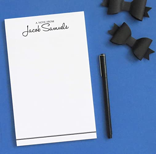 52a882ded32d Amazon.com  A Note From Personalized Notepad