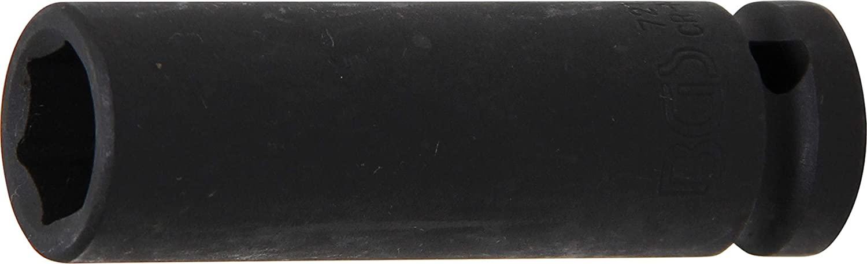 tief 12,5 mm 1//2 Inch BGS 7227 Kraft-Steckschl/üssel-Einsatz Sechskant SW 27 mm