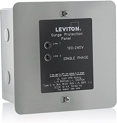 Details about  /Eaton Whole House Surge Protector AC Power Panel Mount Home Protection 2820Joule