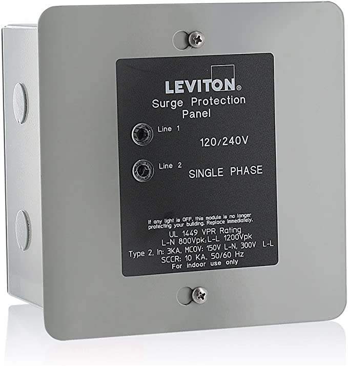Power Surge Protector Whole House Home Electronic Protection Panel Mount New