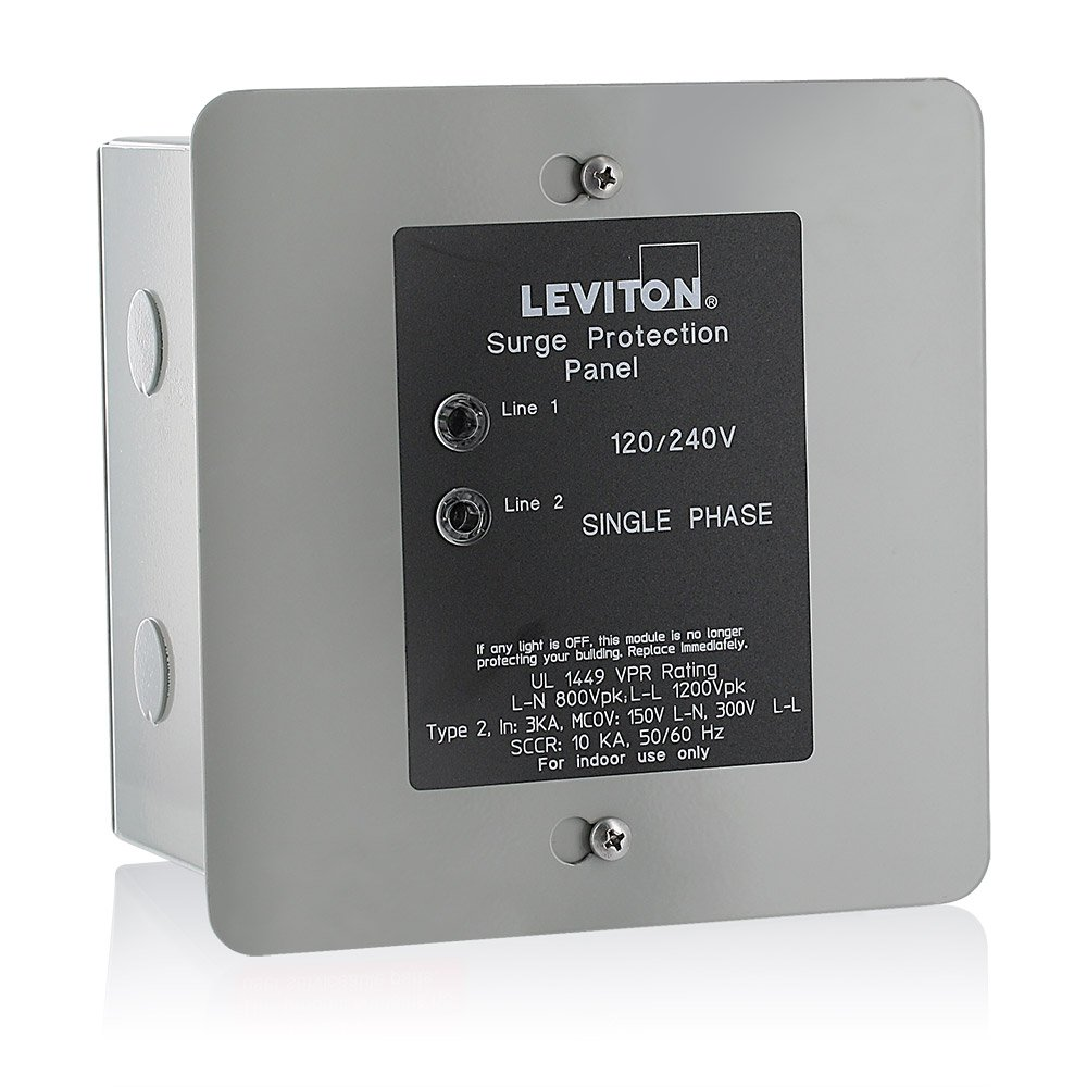 Leviton 51120-1 Panel Protector, 120/240-Volt - Circuit Breaker Panels -  Amazon.com