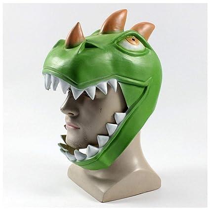 Máscara YN Novedad de Lujo Fortnite Game Surround COS Dinosaurio Rex Fiesta de Baile de Navidad