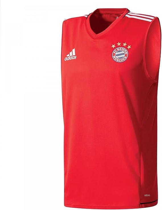 adidas Sll Jsy Camiseta de Equipación Real Madrid Temporada 2017/2018, Hombre