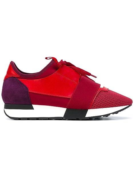 Balenciaga - Zapatillas de Gimnasia Mujer, Rojo (Rojo), 40: Amazon.es: Zapatos y complementos