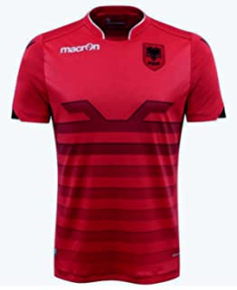 b830a10bb Albania Home Football Shirt 2016-17  Amazon.co.uk  Sports   Outdoors