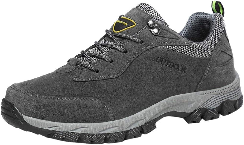 YWLINK Senderismo Zapatos Nuevos Al Aire Libre Zapatos para Caminar Moda Casual Zapatillas Antideslizante Transpirable Zapatillas Running Hombre Resistente Al Desgaste Mocasines Regalo(Gris,39EU): Amazon.es: Zapatos y complementos