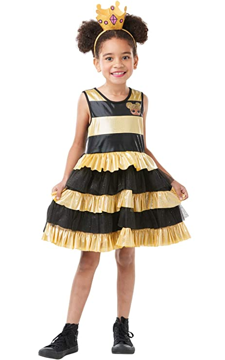 Lol Surprise - Disfraz Queen Bee para niñas, 5-6 años (Rubies 300144
