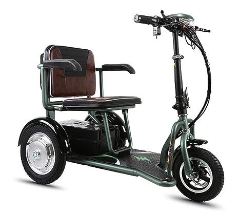 CYGGL Mini Triciclo Eléctrico Plegable para Ancianos Y ...