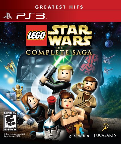 Lego Star Wars: The Complete Saga- Greatest Hits - Playstation 3 (Lego Star Wars The Complete Saga Help)