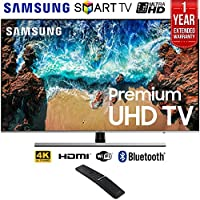 Samsung UN49NU8000 49 NU8000 Smart 4K UHD TV (2018 Model) + 1 Year Extended Warranty UN49NU8000 49NU8000