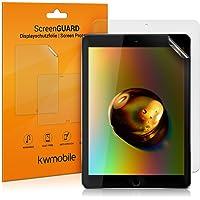 kwmobile 2X Apple iPad 9.7 (2017/2018) Folie - Full Screen Tablet Schutzfolie für Apple iPad 9.7 (2017/2018) entspiegelt