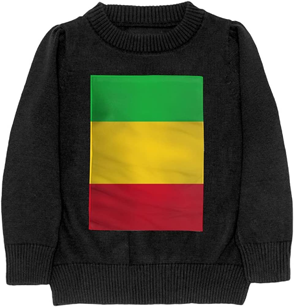 DTMN7 Flag Of Mali Teens Sweater Long Sleeves Crew-Neck Youth Athletic Casual Tee Junior Boys