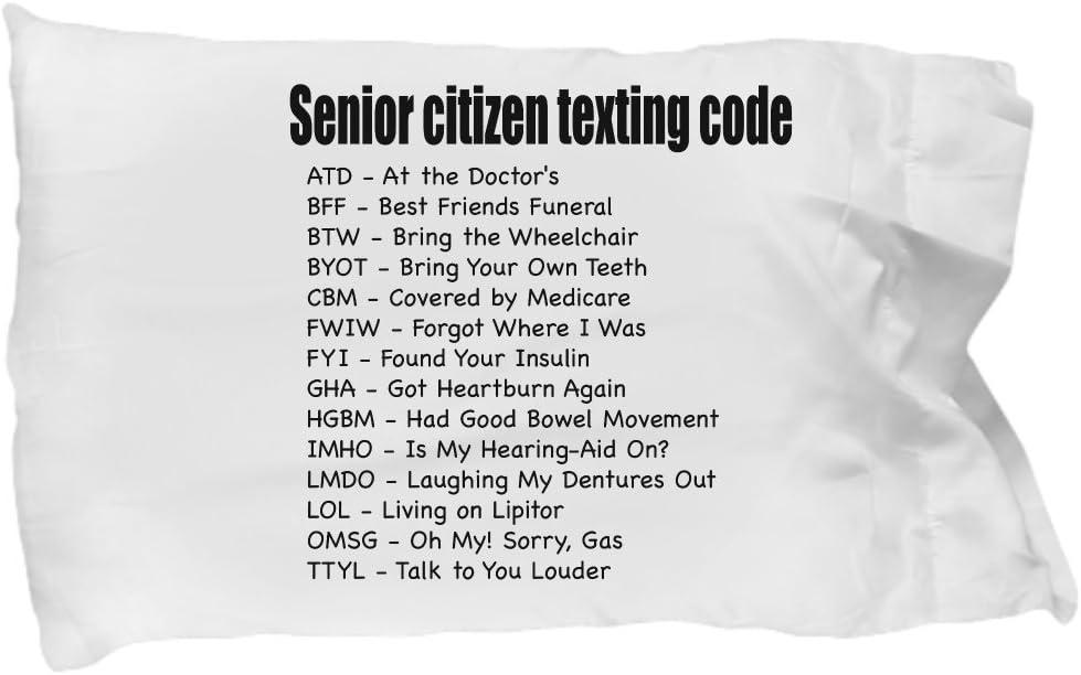 Details about  /Gifts For Senior Citizens Senior Citizen Texting Code Gift For Senior Women
