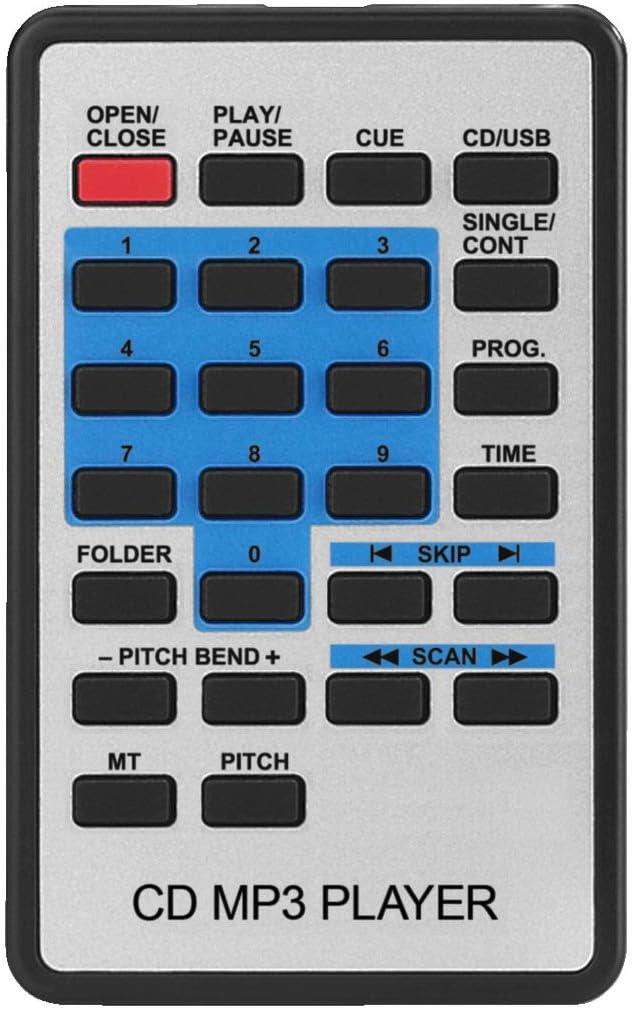 CD-Player mit Anti-Shock System MP3-Player mit Multi-Partition Unterst/ützung Professioneller DJ-CD- und MP3-Spieler mit USB2.0-Schnittstelle DJ MP3-Player in Schwarz IMG STAGELINE CD-196USB